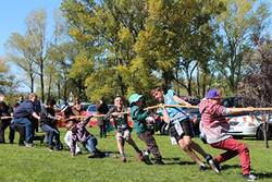 Adaminaby Easter Fair tug of war