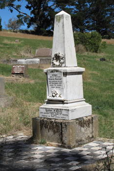 George Mackay's Headstone