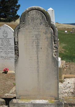 William Brayshaw's Headstone